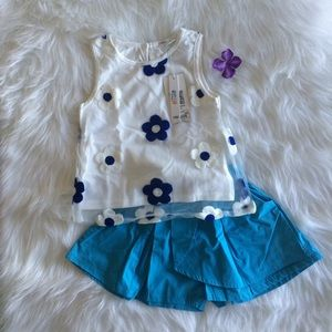 Other - Flower Skort Set